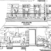 dessin boutique paris fleuri01